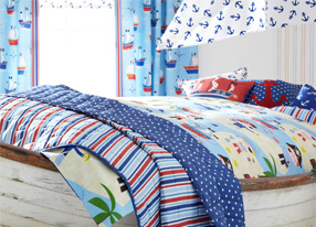 A Pirate's Life for Me Fabrics, Wallpapers & Homeware