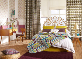 Fjord Mulberry Fabrics & Wallpapers