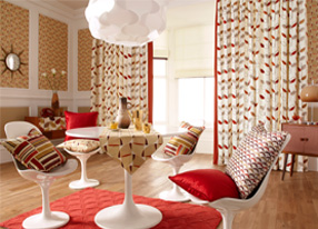 Fjord Spice Fabrics, Wallpapers & Homeware