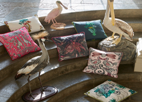Emma J Shipley for Clarke and Clarke Animalia Fabrics