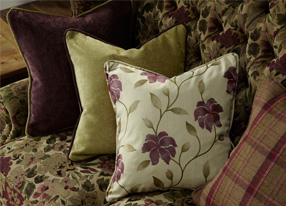 Art Deco Berry Fabrics