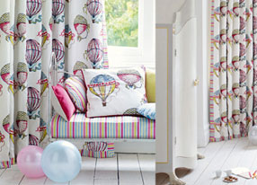 Beautiful Balloons Fabric