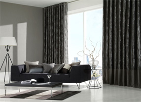 Elements Graphite Fabrics, Wallpapers & Homeware