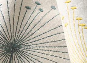 Options 10 Embroideries Fabrics