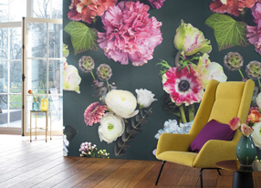 Florescence Fabrics and Wallpapers