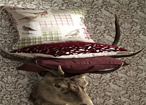 Moorland Rouge Fabrics & Wallpapers