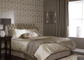 Palladio Mink Fabrics and Wallpapers