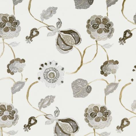Prestigious Textiles Secret Garden Fabrics Flora Fabric - Natural - 1485/005