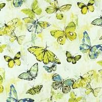 Butterfly Cloud Fabric - Mojito