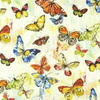 Butterfly Cloud Fabric - Tropical