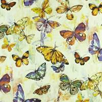 Butterfly Cloud Fabric - Passion Fruit