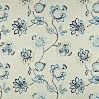 Tiverton Fabric - Coastal
