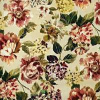 Fontainebleau Fabric - Ruby
