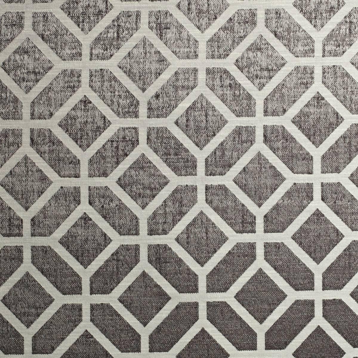Geo Fabric Chrome 1763 945 Prestigious Textiles