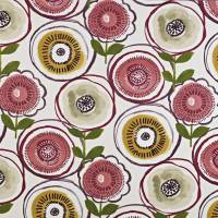Indah Fabric - Berry