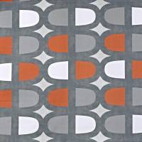 Docklands Fabric - Mango