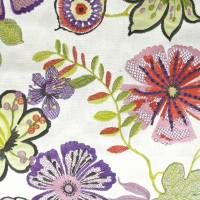 Passion Flower Fabric - Orchid