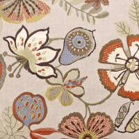 Passion Flower Fabric - Bamboo