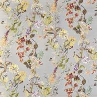 Bougainvillea Fabric - Pebble