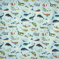 Whale Watching Fabric - Pacific