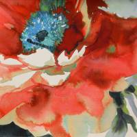 Jardin Fabric - Poppy