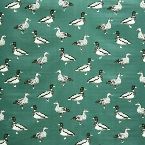 Prestigious Textiles Nature Fabrics Duck Fabric - Teal - 5040/117