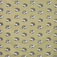 Hedgehog Fabric - Moss