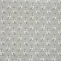 Owl Fabric - Flint