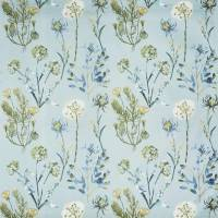 Allium Fabric - Slate Blue