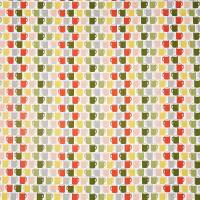 Mug of Tea Fabric - Coral