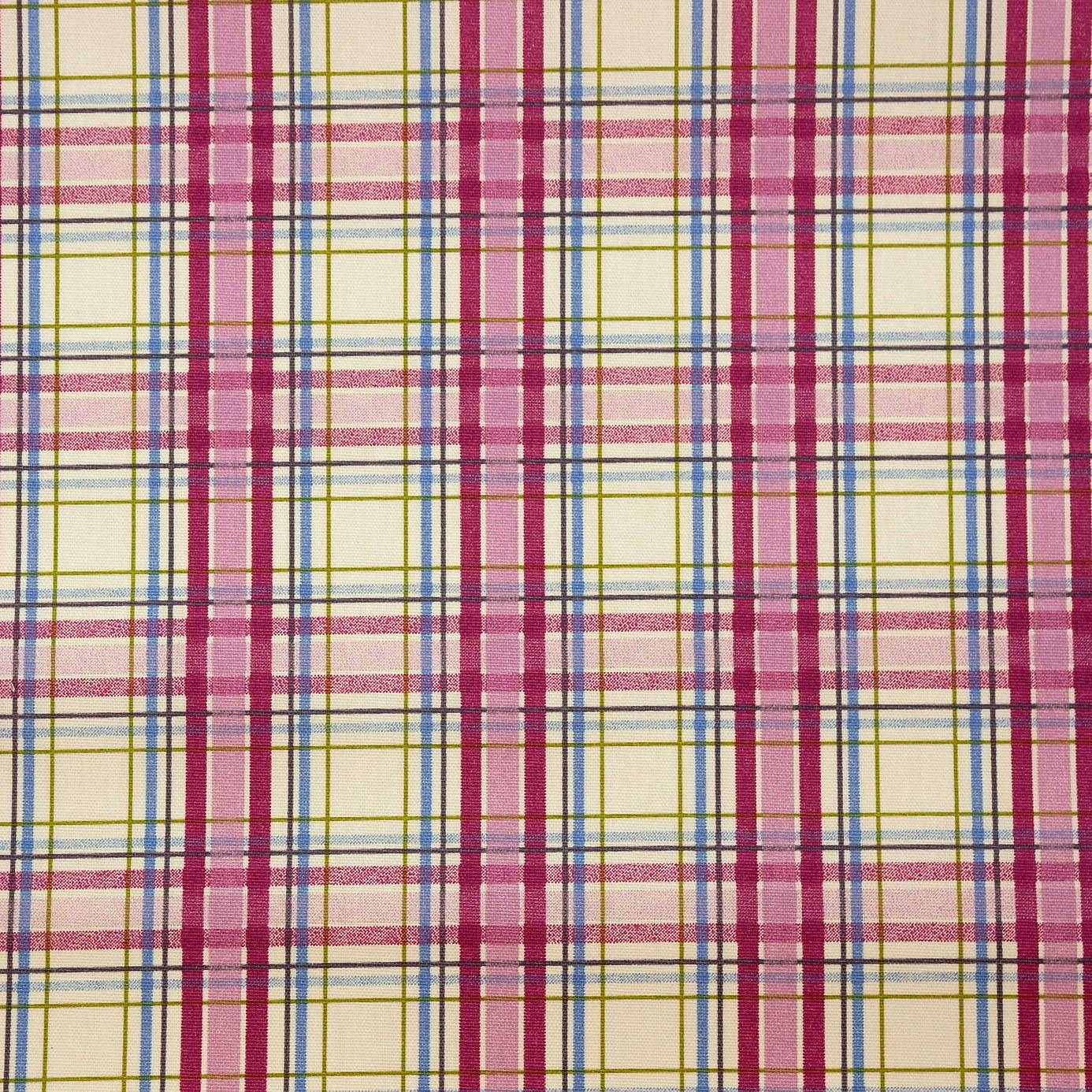 Country Check Fabric Mulberry 5902 314 Prestigious