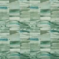 Travertine Fabric - Seafoam