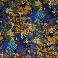 Hidden Paradise Fabric - Midnite