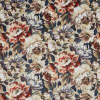 Secret Oasis Fabric - Rouge