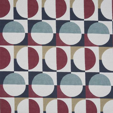 Prestigious Textiles Abstract Fabrics Arc Fabric - Marshmallow - 8682/223