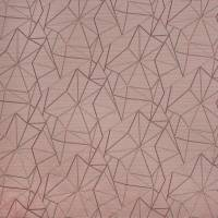 Fraction Fabric - Rose Quartz