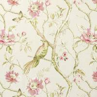 Dovedale Fabric - Rose