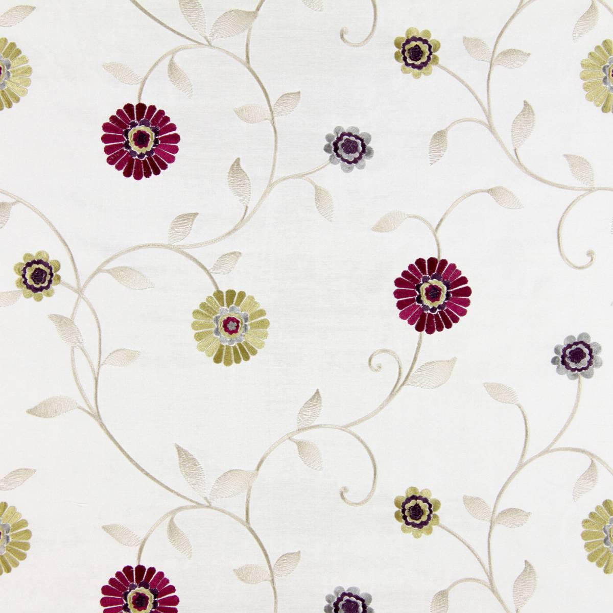 Maggiore Fabric - Mulberry (1316/314) - Prestigious Textiles Lago Fabrics Collection