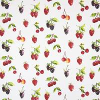 Summer Berries Fabric - Watercolour
