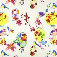 Lily Lantern Fabric - Tropical