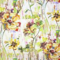 Poppy Fabric - Ochre