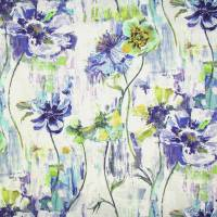 Poppy Fabric - Indigo