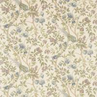 Abbeville Fabric - Blue/Ivory