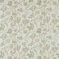Solaine Fabric - Olive/Pebble