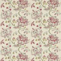 Angelique Fabric - Rose/Aqua