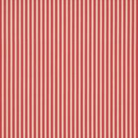 Tiger Stripe Print Fabric - Cherry/Cream
