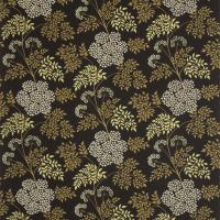 Cowparsley Fabric - Ebony
