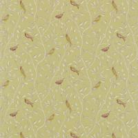 Finches Fabric - Sage