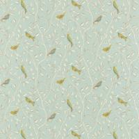 Finches Fabric - Duckegg