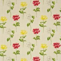 Hana Fabric - Poppy/Yellow
